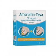 AMOROLFIN-TEVA 50MG/ML GYOGYSZ.KOROMLAKK 1X2, 5ML